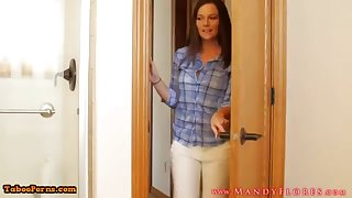 STEPMOMLOVER.COM: mommy training hump respecting her sonnie twosome