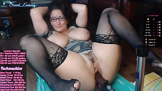 Hot beamy mom kinky webcam mastubation