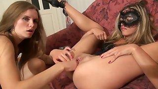 Exotic porn clip Blonde craziest show