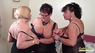 Busty mature BBWs are ready for some steamy group mating