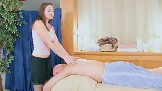 Beast about massage leads to oral and vaginal sex with Shelia Faye