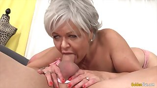 GoldenSlut - Older Ladies Show off Their Cock Sucking Skills Compilation 19