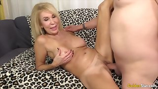 Yellowish Slut - Stunning Mature Blondes Possessions Drilled Compilation Part 7