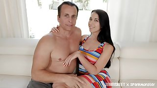 Horn-mad murk Alex Coal is fucked and jizzed hard by one kinky man