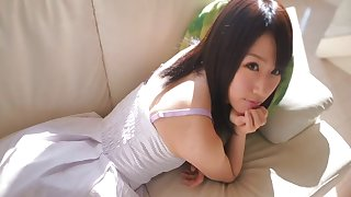 Sweet Japanese cutie Yuna Inoue gets fucked by her horny lover