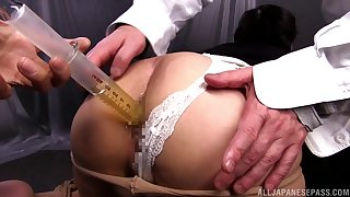 Round ass Japanese Ouka Fujimura gets fucked by her kinky tramp